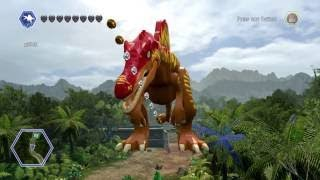 Lego jurassic world: Flying spinosaurus glitch REMASTERED!!!!!