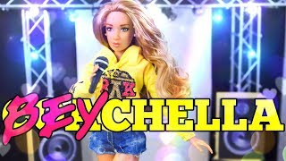 DIY - How to Make: BEYCHELLA Custom Beyonce Doll