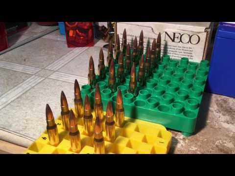 Run Out Test With The New MEC Marksman Press Or How To Get Low Run Out Ammo