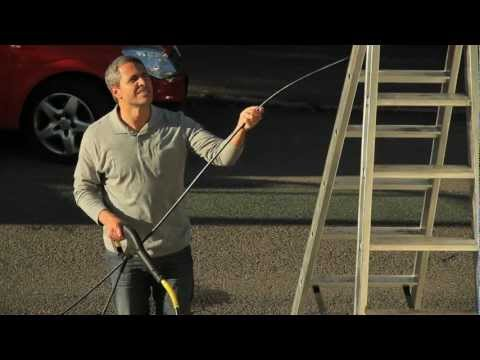 Karcher Gutter and Pipe Cleaning Kit