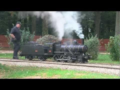 CFNC Hommage à Jany Nancey Le Président du petit train a vapeur de corgirnon 2012