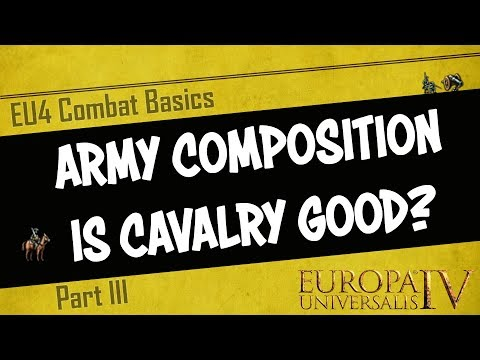 EU4 - Ideal Army Composition - Is Cavalry worth it? | Combat Basics