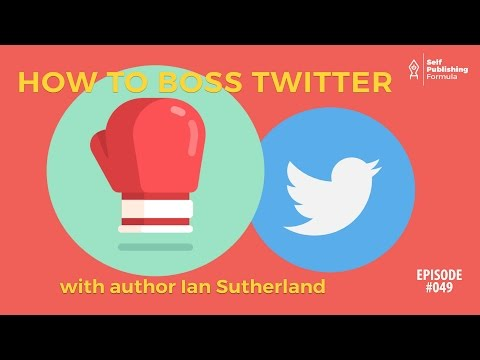 SPF-049: Advanced Twitter Strategies for Authors – with Ian
