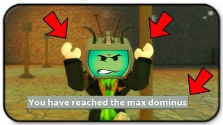 Glitching The Game To Try To Beat The World Record - Roblox Dominus Weight Lifting Simulator