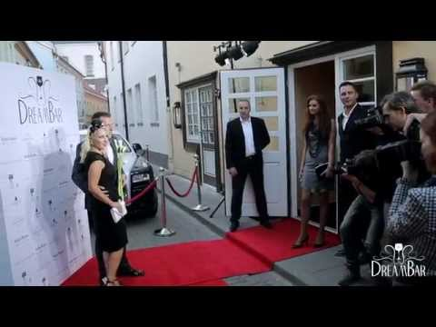 """""""Dream Bar"""" grand opening: Red carpet event in """"Stikliai Relais & Châteaux"""" (official video)"""