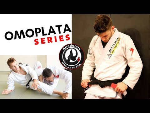 OMOPLATA | 4 Part Series attacking and finishing the omoplata