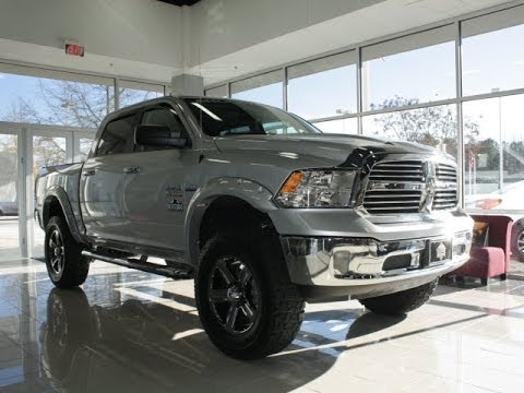 2014 Lifted RAM 1500 Big Horn Rocky Ridge Altitude - YouTube