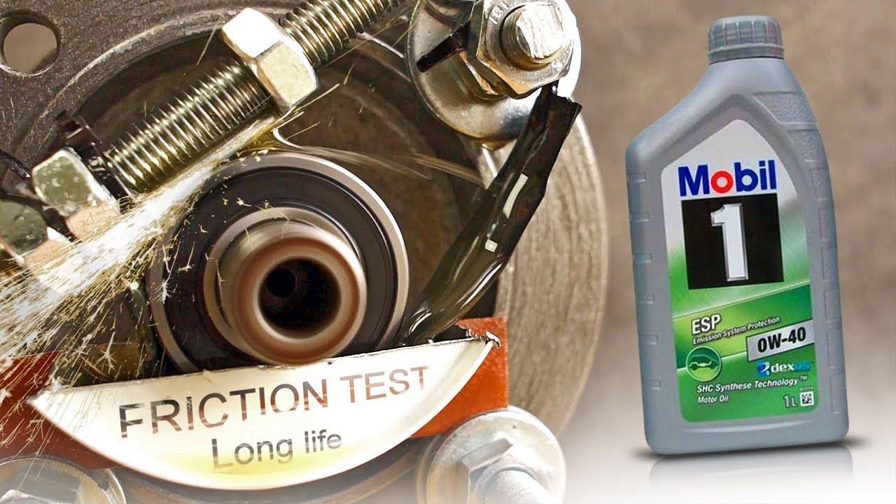 Моторное масло MOBIL 1 FS 0W-40 4 л (153692) - YouTube