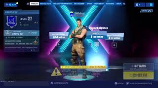 Fortnite RDW abotraden+gewinnspiel+(New nightbot)+ br |kingz 2DDW