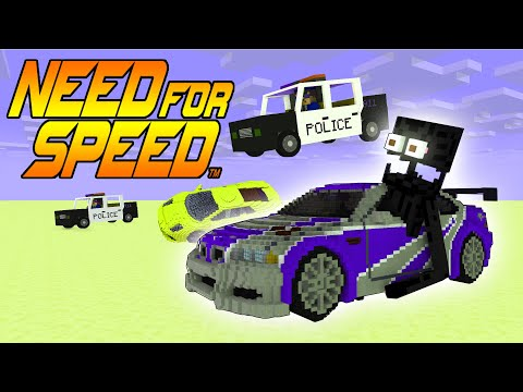 Monster School : Enderman In NEED FOR SPEED MOST WANTED!!! - Minecraft Animation