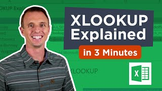 XLOOKUP for Excel: Explained in 3 Minutes