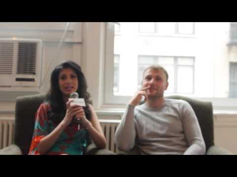'Sense 8'  Stars Tina Desai & Max Riemelt On How Cast Deals With Sex s