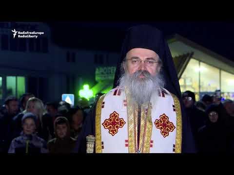 Kosovo Serbs Protest Montenegro Church Law