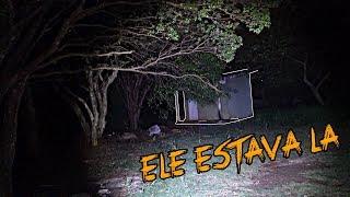 MANSÃO PARANORMAL O HOMEM DE PRETO APARECEU 💀