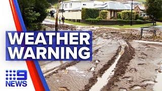 Heavy rain warning for Sydney   9 News Australia