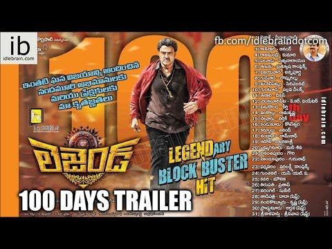 Legend 100 days powerful dialogues trailer - idlebrain.com