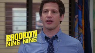 Why Would You Jump Out Of A Helicopter With A Knife In Your Mouth? | Brooklyn Nine-Nine