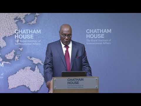 Atiku Abubakar in Chatham House