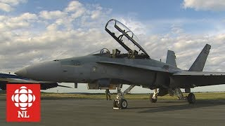 F-18 Flight Over Bonavista Bay
