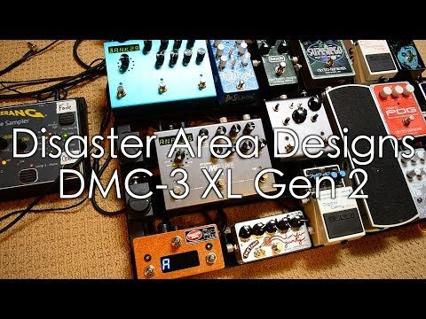 Disaster Area DMC-3XL Gen2 Controller Demo with Strymon Timeline and BigSky
