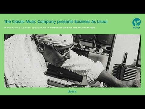 Business As Usual March 2018: Luke Solomon + Special Guests Tedd Patterson & Michelle Mannetti