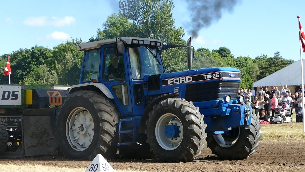 Ford Pulling Tractors : Ford tw fullpull tractor pulling nibe youtube