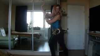 Обучние танцу живота .Урок № 7