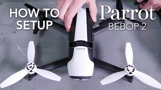Parrot Bebop 2 - Tutorial #1 - Set-up