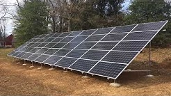 Tour a 17 kW Solar Power System in Lancaster County - Belmont Solar