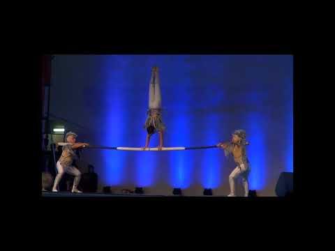 Russian Bar Acrobatics Circus Act Variety Entertainment Show  Performance