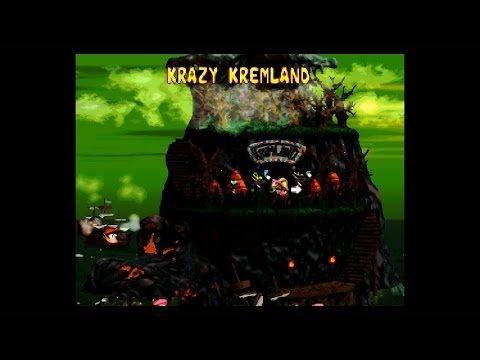 DKC2 (SNES) (102%) / 04. World 4: Krazy Kremland [1080p@60]