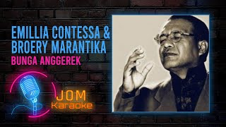 Emillia Contessa & Broery Marantika - Bunga Anggerek (Official Karaoke Video)