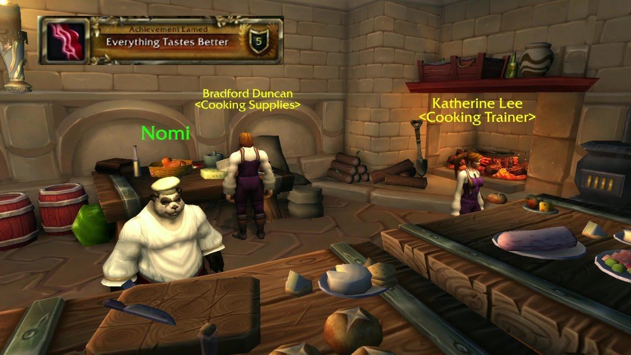 world of warcraft everything tastes better cooking legion