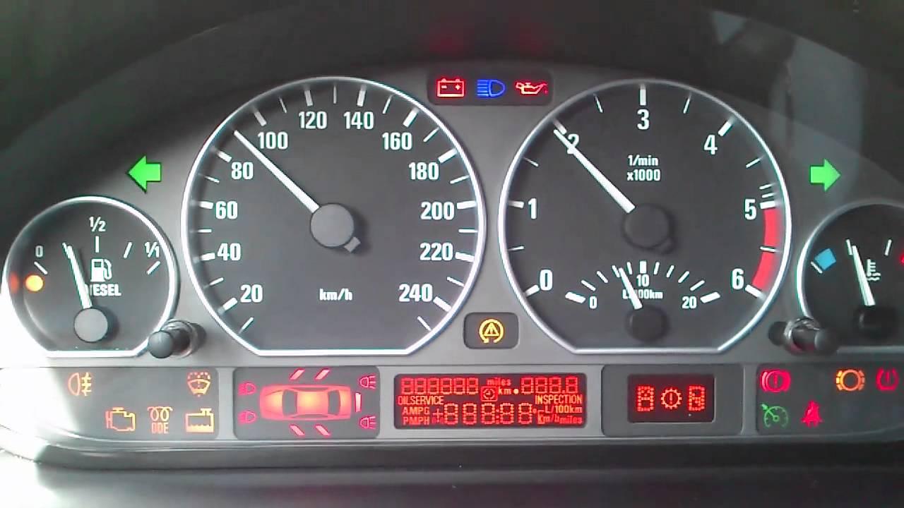 Test Zegar 211 W Bmw E46 320d M47n Touring Youtube