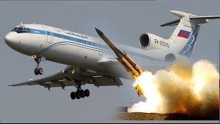 8 Aviones Comerciales DERRIBADOS POR MISILES