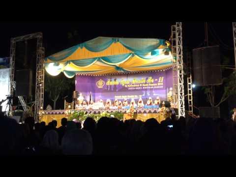 Busyro Lana -  Raudhatul Jannah (putri) - Parade Syair Maulid ke-11