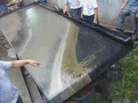 shaking table test--henghong mining machinery