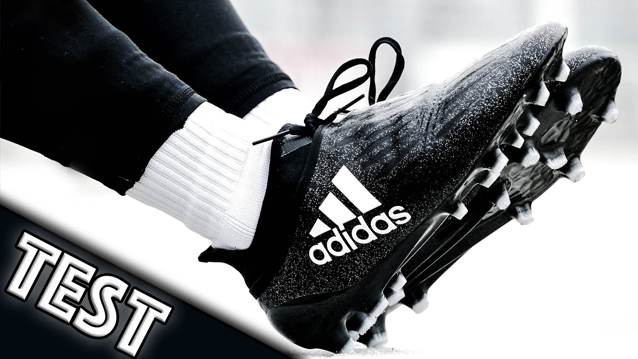 super cute info for closer at TEST adidas X16+ PureChaos Chequered Black - YouTube