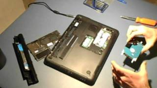 How To Install Laptop Hard Drive (Dell Inspiron)