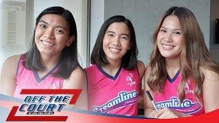Off The Court with Creamline (Risa Sato, Jia Morado, and Alyssa Valdez)