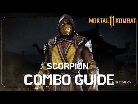 mortal kombat 11 scorpion combos pc