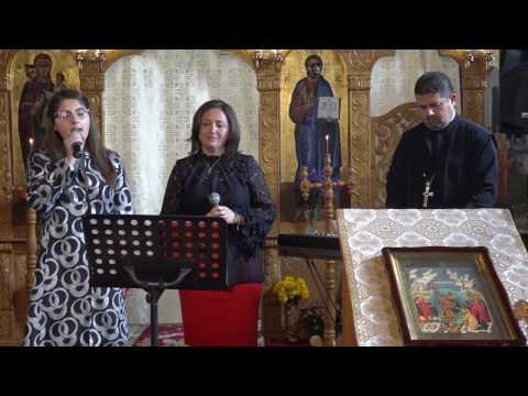 Maria, Petronela si Pr. Ciprian Talos, concert de pricesne, Hodișu 2016