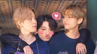 This is how VMINKOOK BTS steal your heart (Maknae Line)