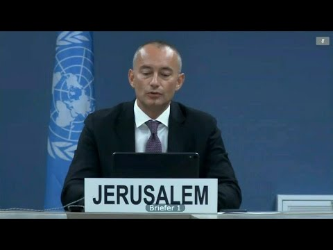 Annexation Of Palestine A Serious Violation Of International Law - Security Council Briefing