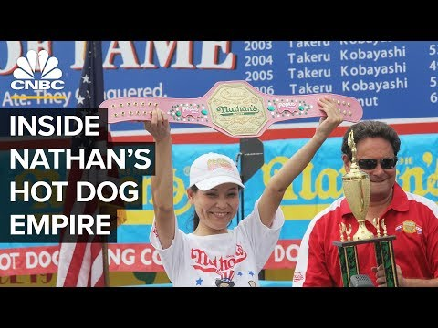 How Nathan's Hot Dog Contest Became A Fourth Of July Favorite