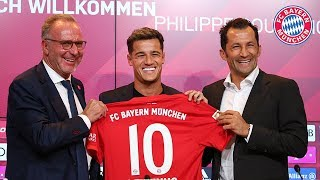 Philippe Coutinho - Presentation at the Allianz Arena | FC Bayern