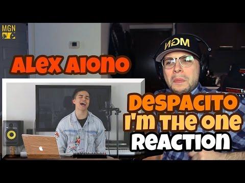 Alex Aiono - Despacito & I'm The One REACTION
