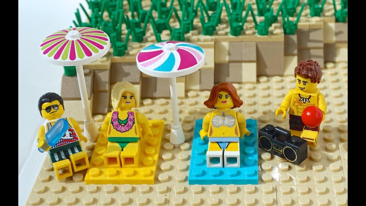 альбома набор лего пляжная вечеринка анимация налы