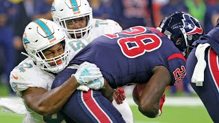 Miami Dolphins Raekwon McMillan talks about going home for break and talking football