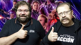 Crítica-review Vengadores: EndGame - SIN SPOILERS - Avengers